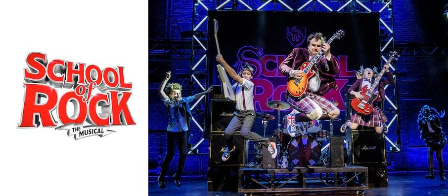The School of Rock at Liverpool Empire Theatre
